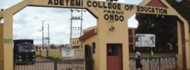 Adeyemi College of Education Admission List