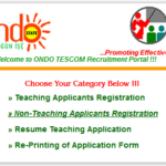 Ondo State Teaching Service Commission Recruitment 2014