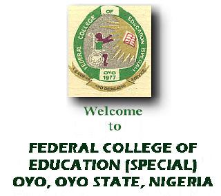 Federal College of Education (Special), Oyo (FCEOYO)