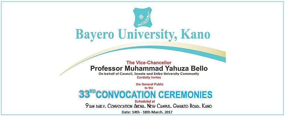 BUK Convocation Ceremony
