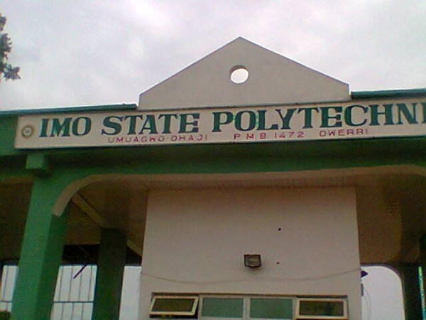 Imo State Polytechnic Gate, Admission Form