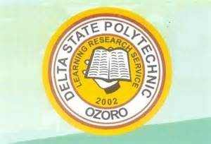 Delta state Poly Ozoro HND Admission Form