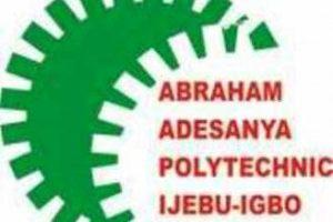 Abraham Adesanya Poly Admission List