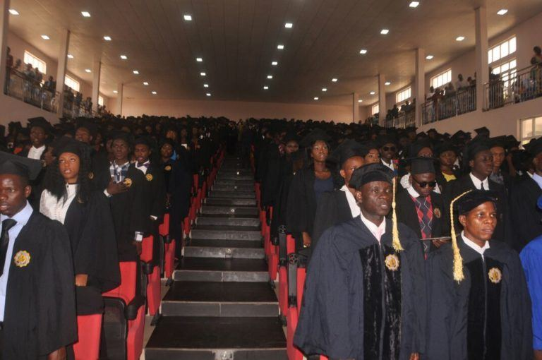 Adeleke University Matriculates Students