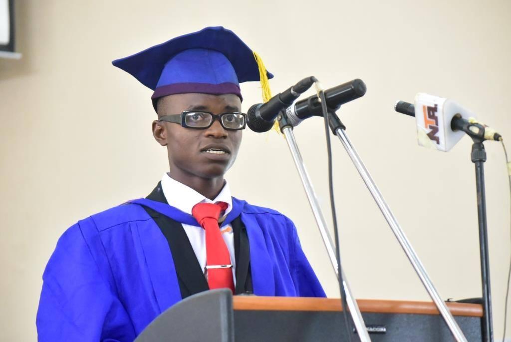 The best graduating student, FUTA