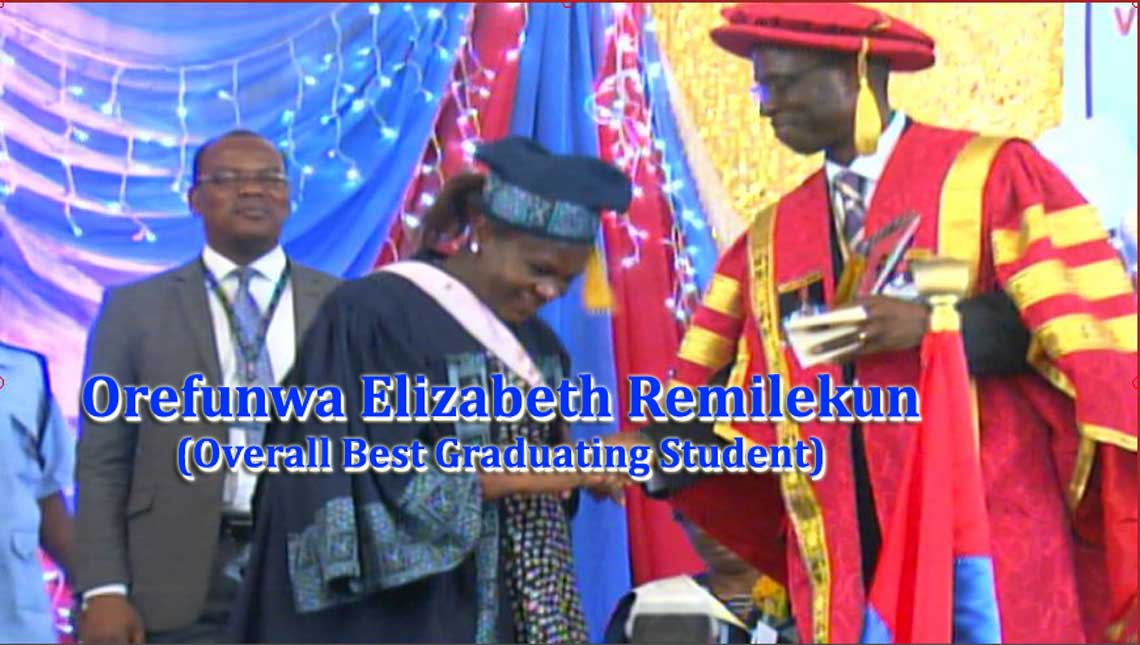 LASU Best-Graduating Student Attempted UTME 7 Times