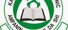 Kano State Poly Admission Form