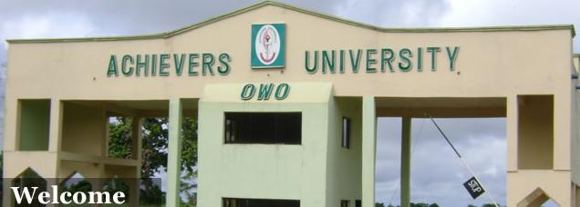 Achievers University JUPEB Admission