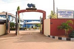 Godfrey Okoye University Centre for Nanny and Continuing Education Admission Form