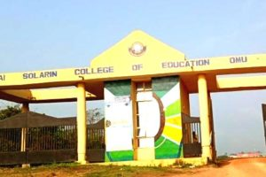 Tai Solarin College of Education Matriculation